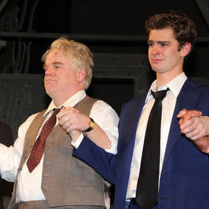 Andrew Garfield Opening Night on Broadway With Emma Stone