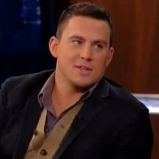 Channing Tatum on Jimmy Kimmel Live