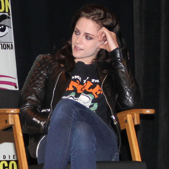 Kristen Stewart and Charlize Theron at WonderCon Pictures