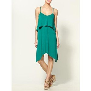 Tinley Road Double Layer V Day Dress