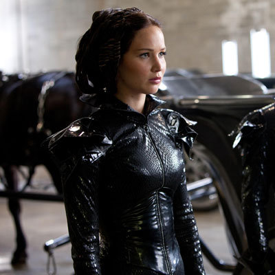 Katniss Everdeen's Fire Suit in The Hunger Games ...