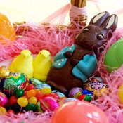 What 100 Calories of Easter Candy Looks Like