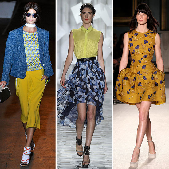 Colour Report: Blue + Yellow