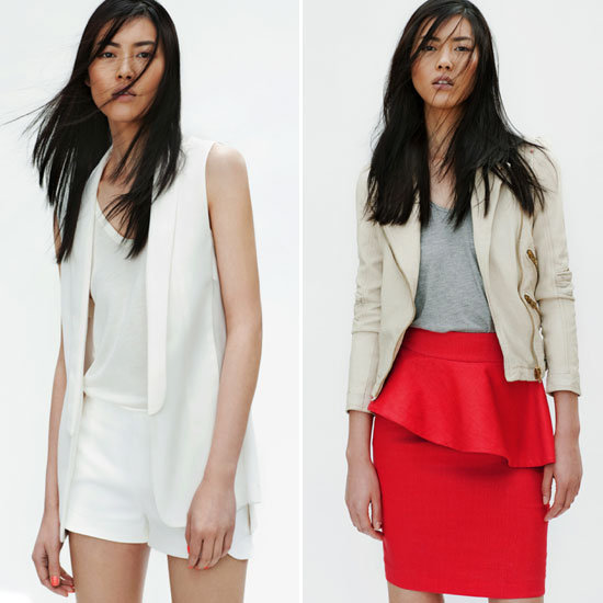 Zara's April Look Book Features All This Season's Biggest Trends: Peplums, Fringing, Techno-Prints, White on White and more!