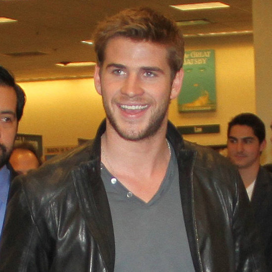 Liam Hemsworth on The Hunger Games Opening Day Pictures