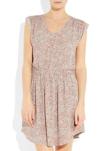 Rebecca Taylor | Floral-print crepe mini dress | NET-A-PORTER.COM