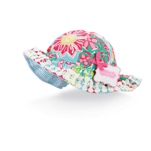 Mud Pie Lily Pad Floral Sun Hat