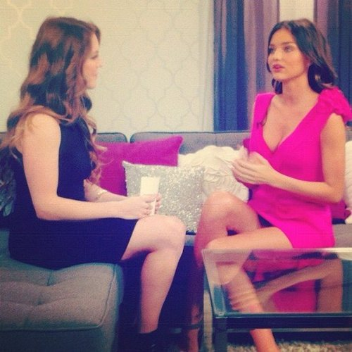 FabSugarTV sat down with the gorgeous Miranda Kerr.