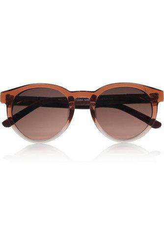 The Row|Round-frame acetate sunglasses|NET-A-PORTER.COM