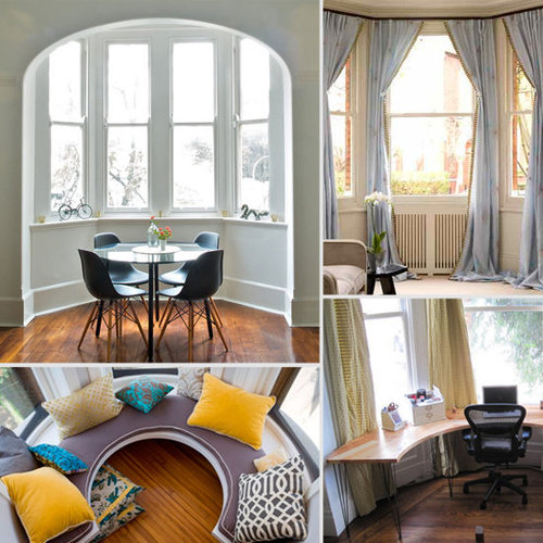 9 Creative Decorating Ideas For Bay Windows