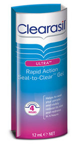 Clearasil Ultra Rapid Action Seal‐to‐Clear Gel