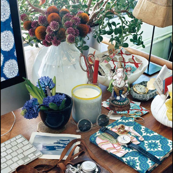 Masculine Desk Decorating Inspiration