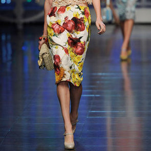 Printed Pencil Skirts For Spring 2012