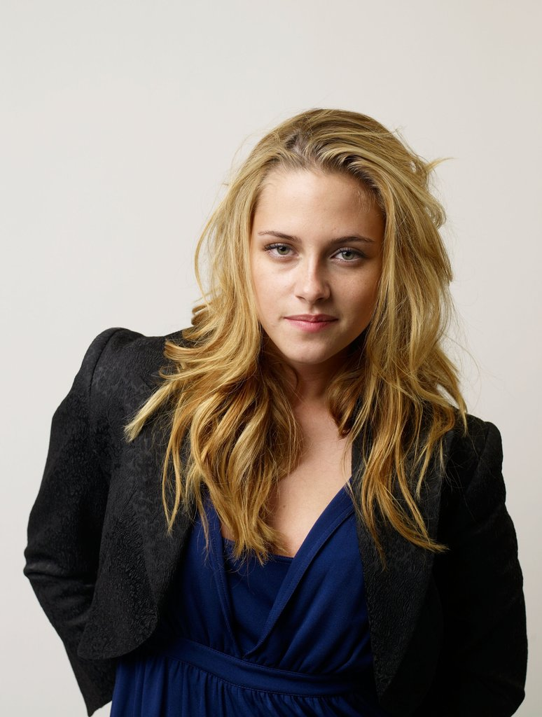 Kristen Stewart let her blonde hair down and posed for a portrait for Into the Wild during the Toronto International Film Festival in September 2007.