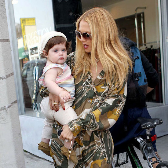 Rachel Zoe and Crawling Son Skyler Berman Pictures
