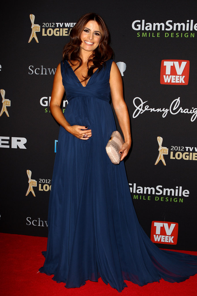 Ada Nicodemou Hits The 2012 Logie Awards Red Carpet In A