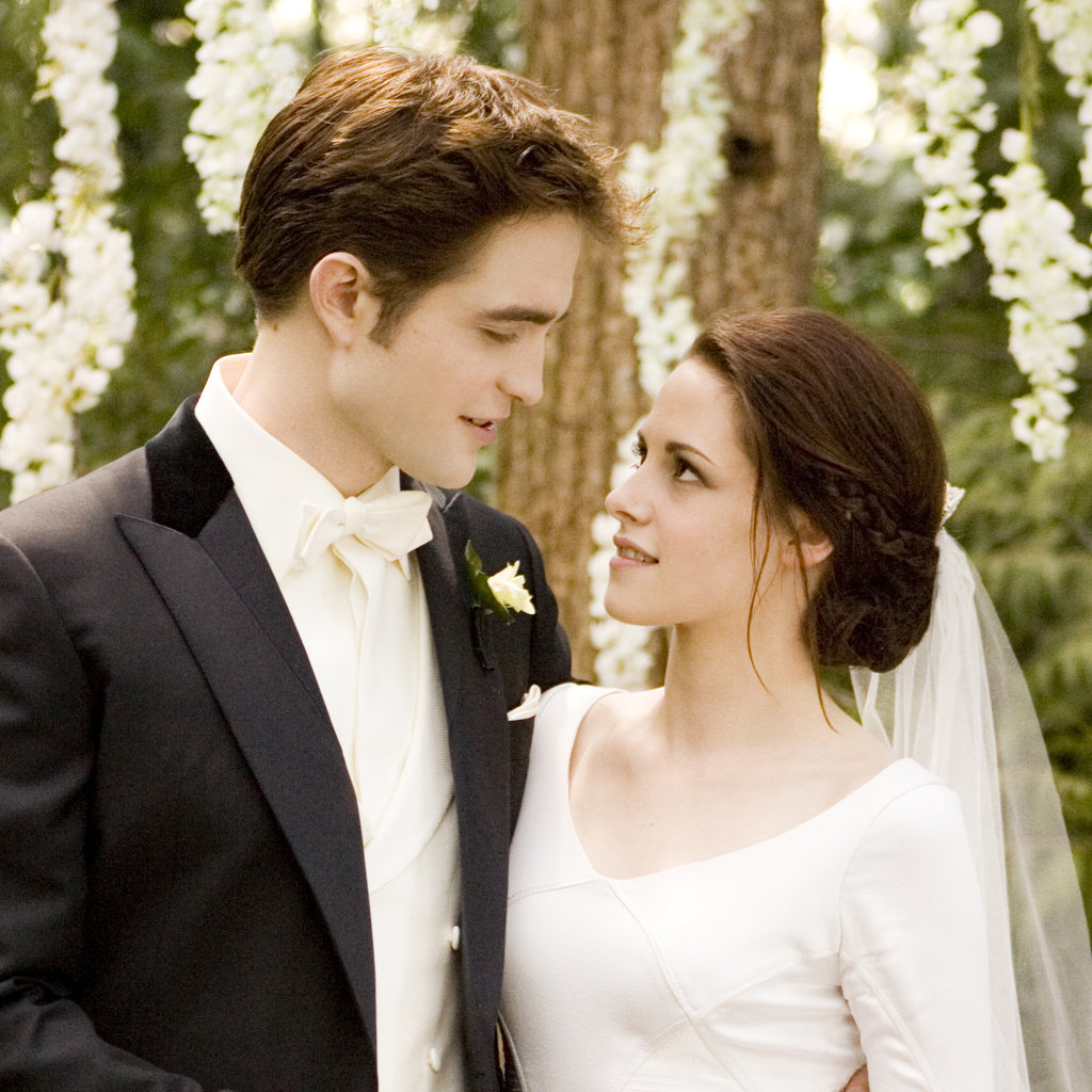 Twilight breaking dawn bella and edward wedding