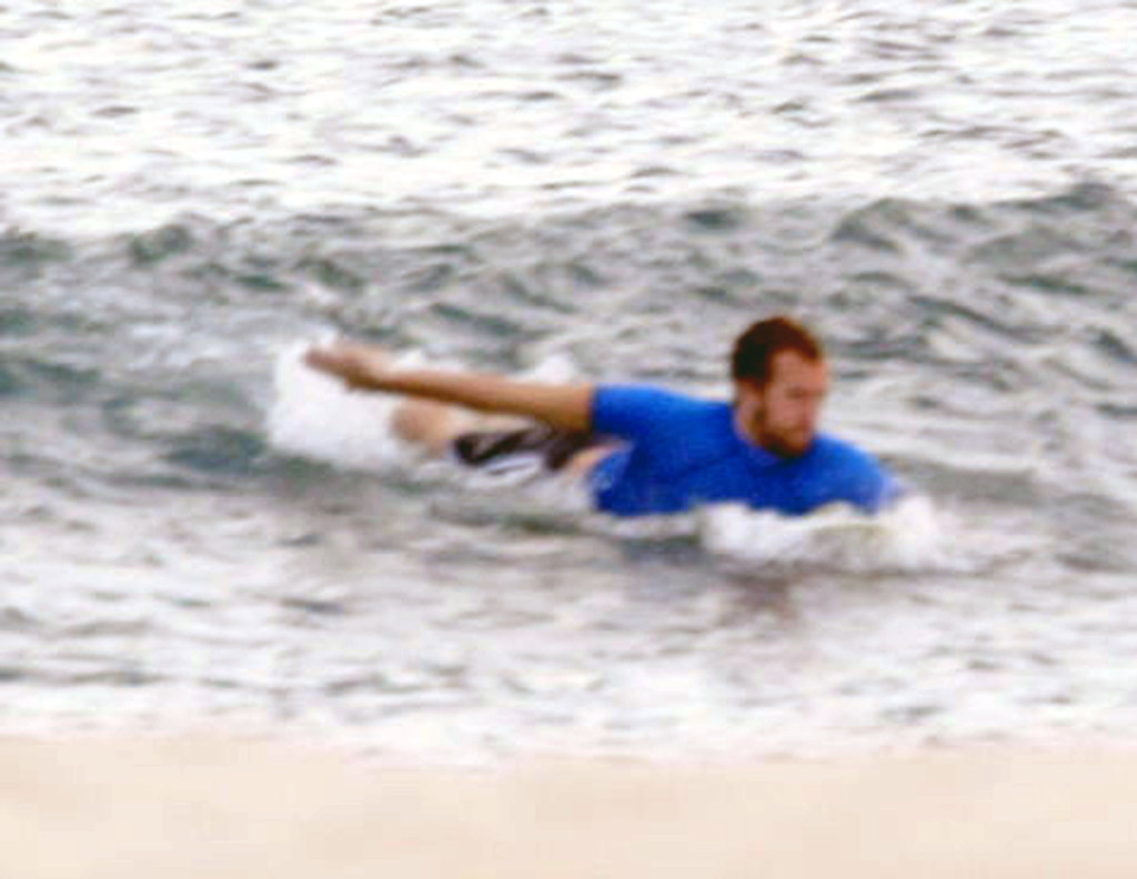 Chris Martin went surfing during his 2003 honeymoon at the Esperanza Resort in Mexico with Gwyneth Paltrow.
