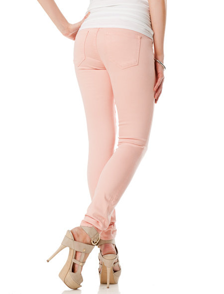 Paige Premium Denim Maternity Jeans in Light Pink ($198)