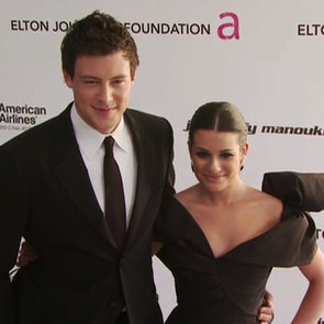 Lea Michele and Cory Monteith Inside the Actors Studio Video and Poolside PDA