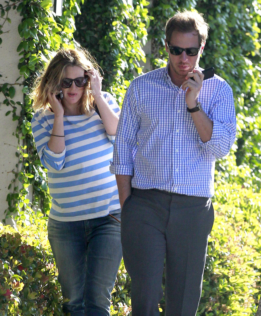 Drew Barrymore and Will Kopelman went for a walk around LA in April 2012.
