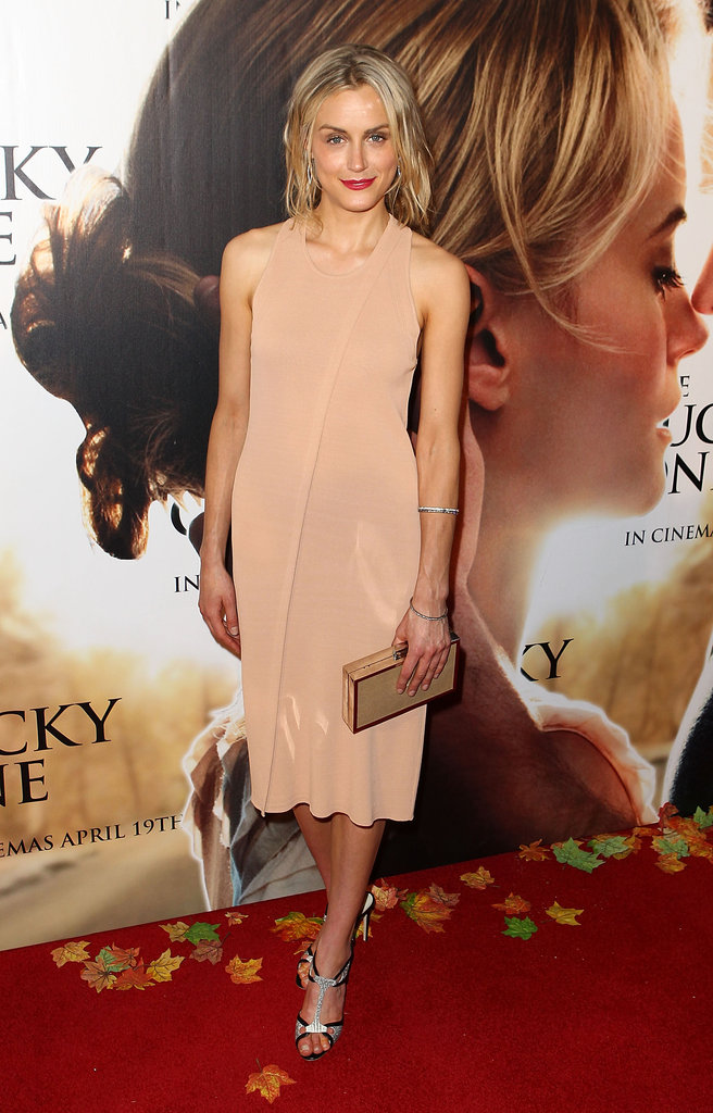 Taylor Schilling at The Lucky One premiere in Melbourne.