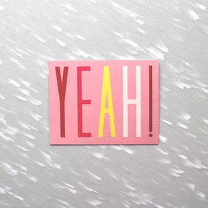 Image of Yeah! Notecard Pack