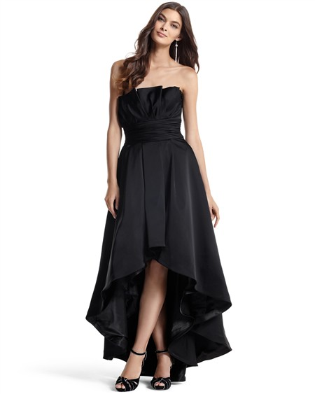 White house black market high low gown 398 10 chic for White house black market wedding dresses