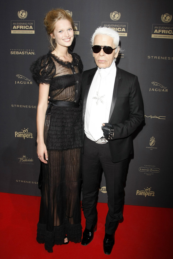 Anyone who's chummy with Karl is ok by us!