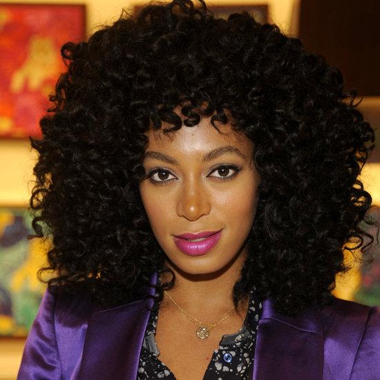 Celebrities With Purple Lipstick