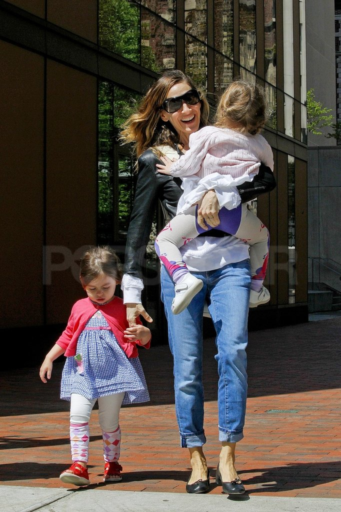 Sarah Jessica Parker Has Twin Time Ahead of Her Family Weekend