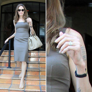 See Angelina Jolie Engagement Ring Pictures