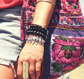 We Hone Our Street Style Stalking in on the Accessories from Coachella: Festival Fashion, In Detail!