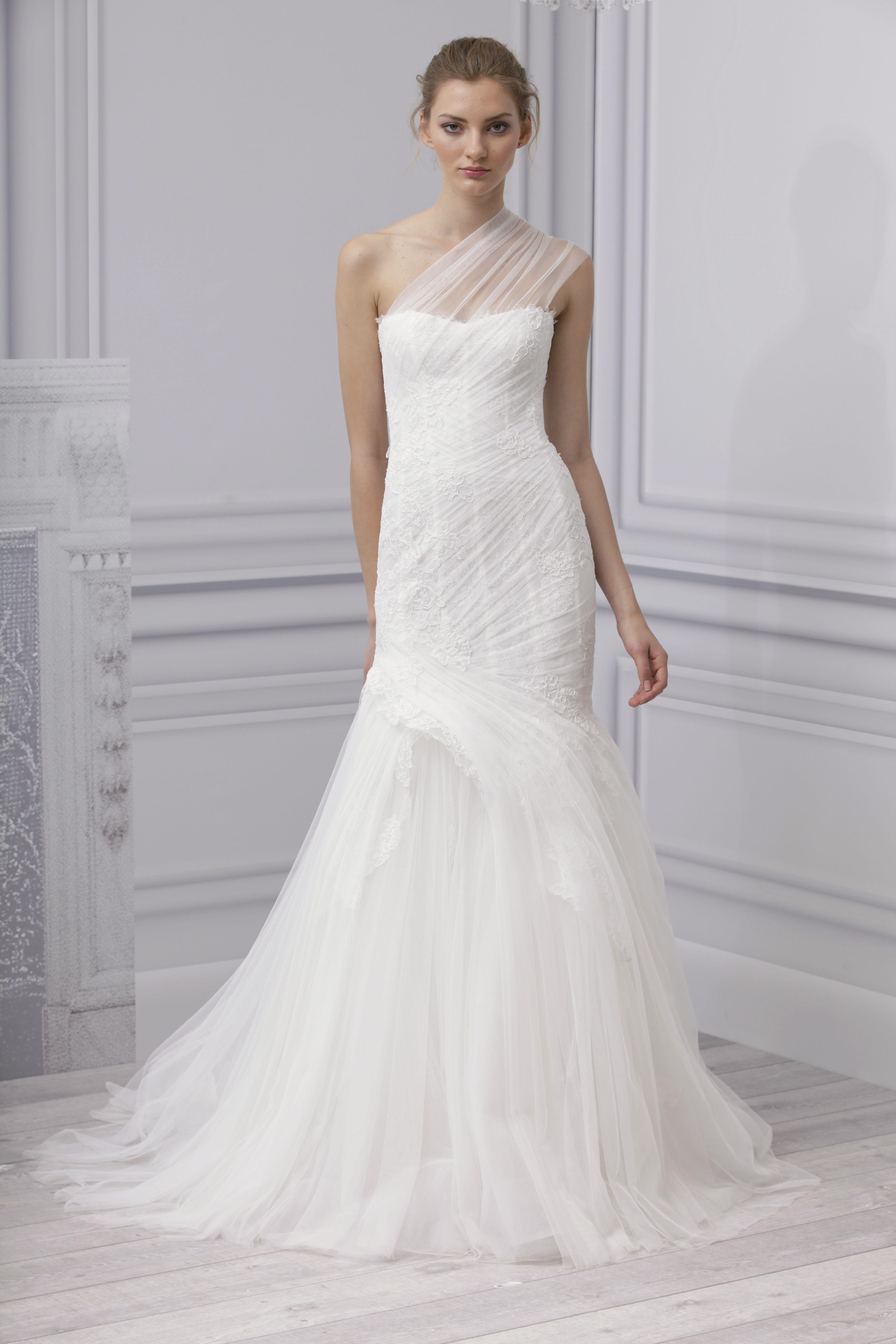 Monique Lhuillier Hochzeits-Kleider