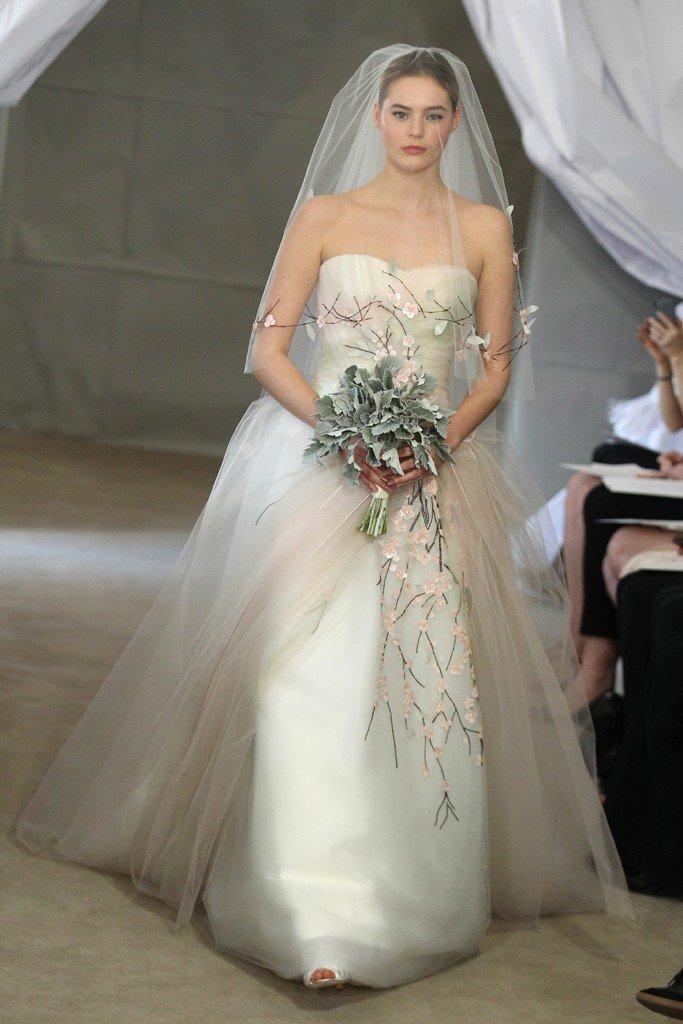 Carolina Herrera Bridal Spring 2013