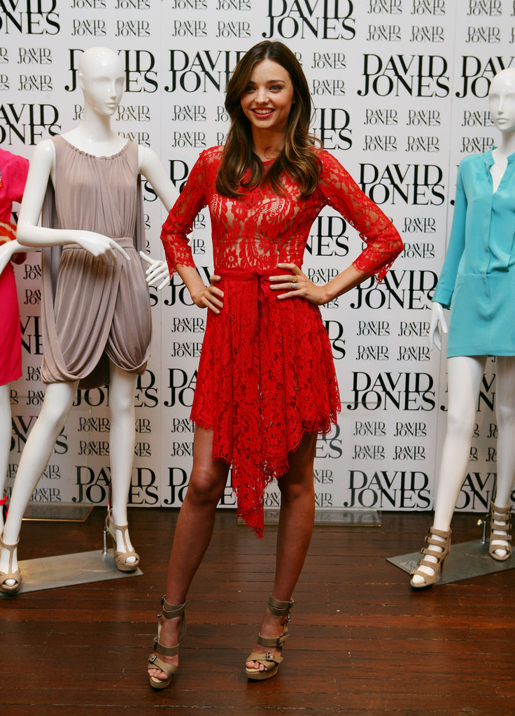 July 2011: David Jones New Brands Launch