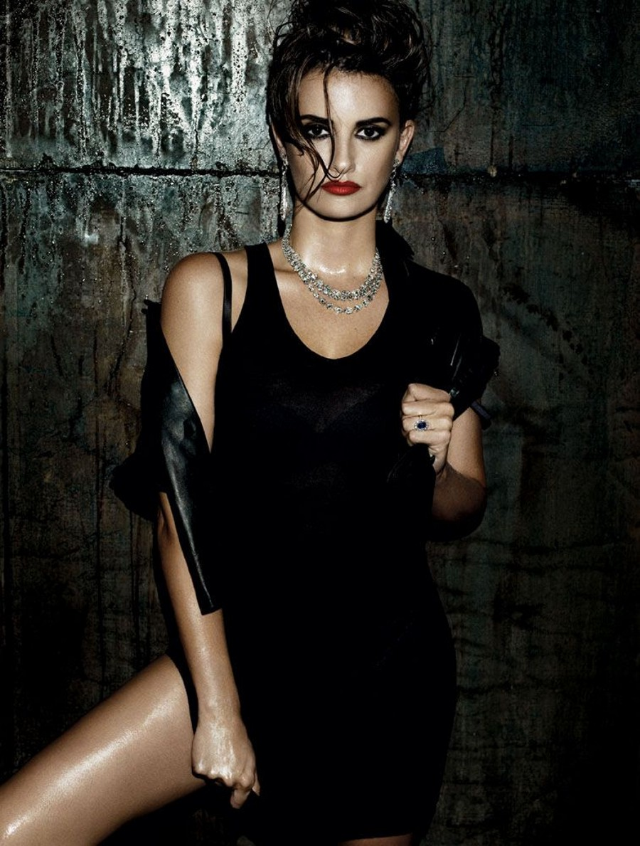 The actress got dark and edgy for a sexy spread in Interview magazine's January 2010 issue. Source: Interview Magazine