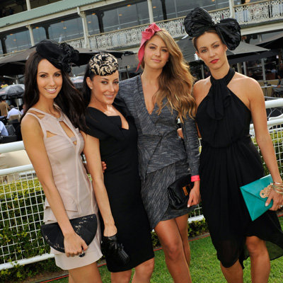 2012 Doncaster Day Celebrity Pictures: Jesinta Campbell and WAG Nation Stars Terry Biviano and More