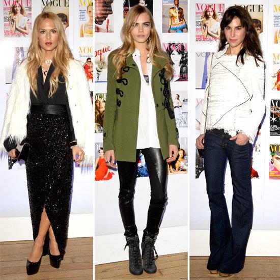 Snoop UK Vogue's Celeb-Packed Fashion Festival! Rachel Zoe, Georgia May Jagger, Cara Delevingne & More