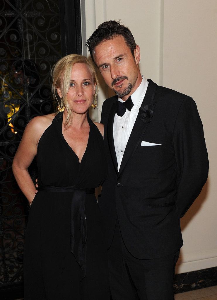 Patricia Arquette and David Arquette