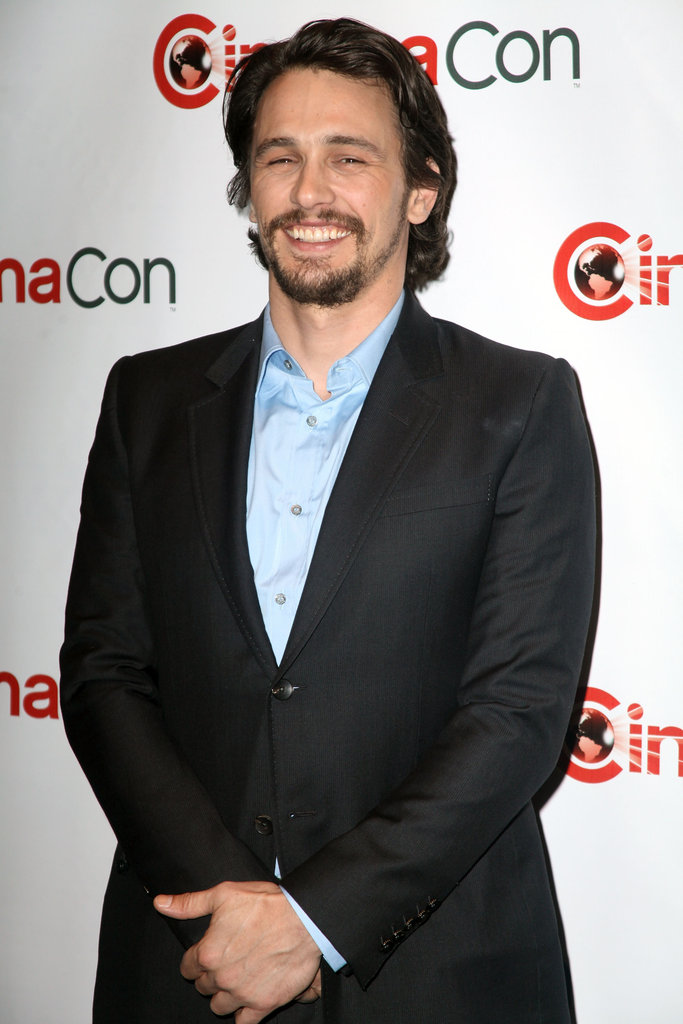 James Franco had a laugh at CinemaCon in Las Vegas.