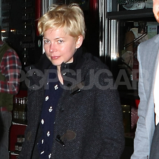 Michelle Williams had a date night with Jason Segel in NYC.