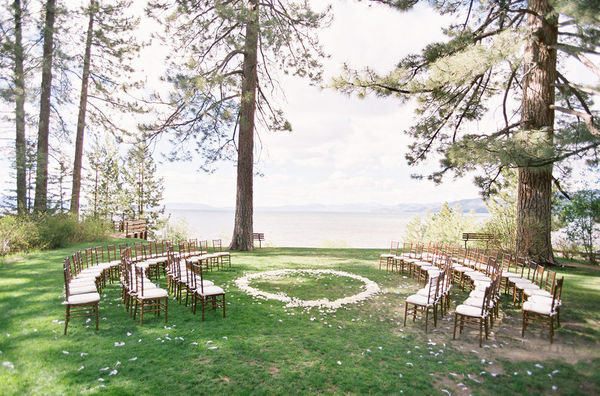 Unique Ceremony Seating Ideas For Outdoor Weddings: If You're In The Midst Of Gorgeous Scenery, Then Why Not