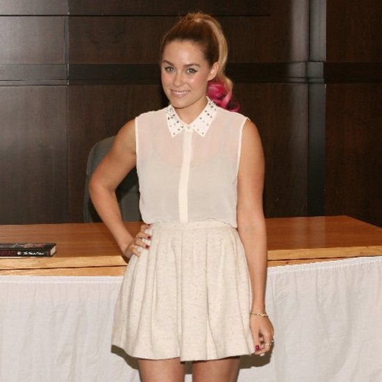 Lauren Conrad Stud-Collar Blouse