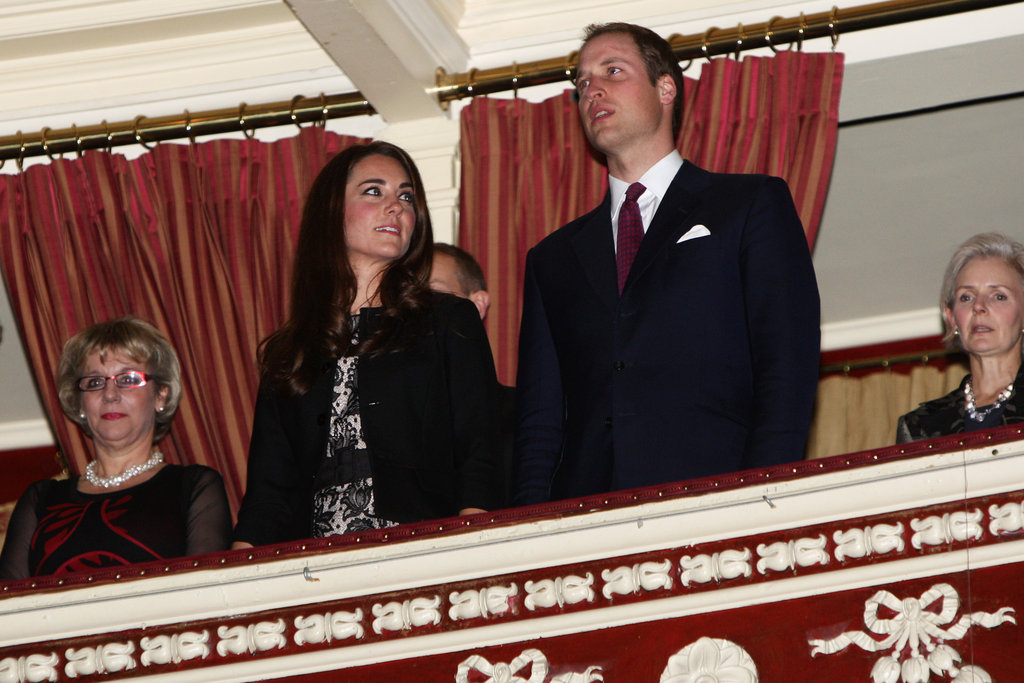 Kate Middleton gazed at her man Prince William before a December 2011 concert in London.