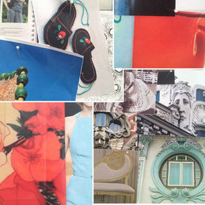 See Alice McCall's Mood Board Prior to Her 2012 Mercedes Benz Fashion Week Australia Runway Show!