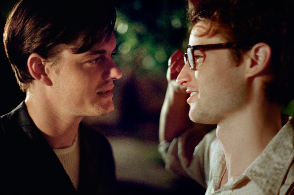 Sam Riley and Tom Sturridge in On the Road.   Photo courtesy of MK2 Productions