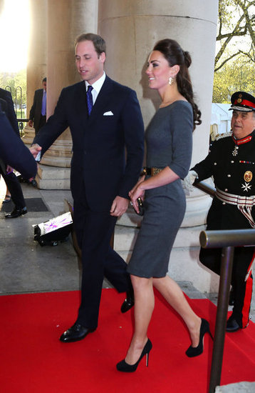 Kate Middleton and Prince William Do an Outfit Change For an Evening Event