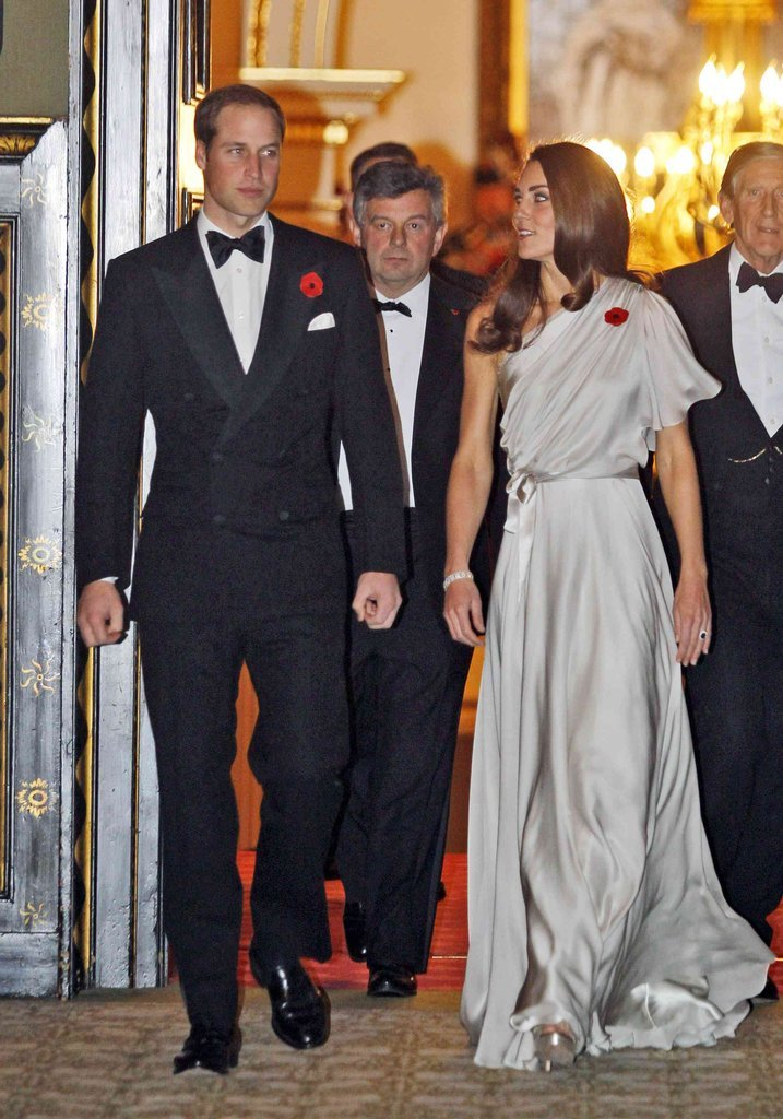 The Royal Couple at St. James's Palace