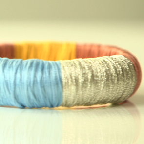 Makeover Your Jewellery With Our Easy, Step By Step DIY Video! How To Make Your Own Thread-Wrapped Bangle